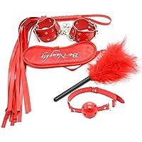 HEALIFTY Sex Bondage Kits Fetisch Bett Handschellen Feder Mund Peitsche Brille Anzug Sex Spielzeug Missbrauch... preisvergleich bei billige-tabletten.eu