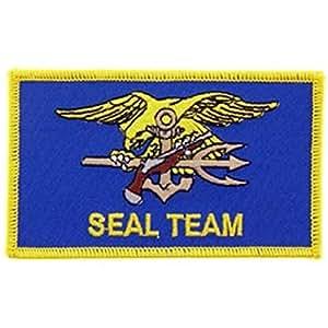 Findingking Halsketten U.S. Navy Seal Team Patch 7,6cm