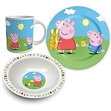 SunCity - Peppa Pig Set comida (PEA102455)