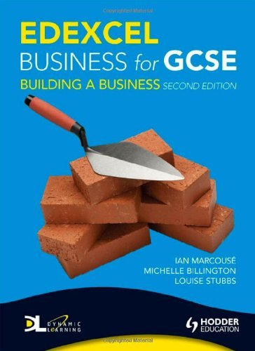 Edexcel Business for GCSE: Building a Business, 2nd Edition by Ian Marcouse (26-Jun-2009) Paperback