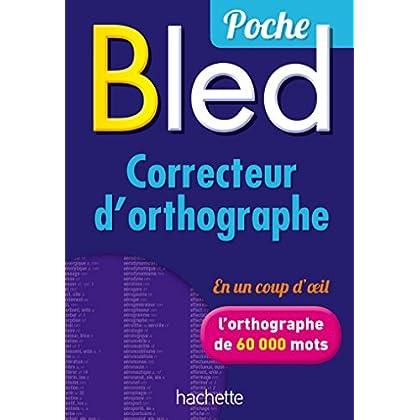 Bled - Correcteur d'orthographe