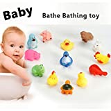 Eroihe Baby Badespielzeug Badewannenspielzeug Schwimmendes Klingen Tiere Spielzeug Wasserspielzeug