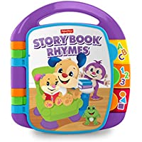 Fisher-Price CDH26 Laugh and Learn Story, Rhymes, Electronic Educational Toddler Baby Book Toy with Words, Letters and Numbers, Suitable for 6 Months Plus