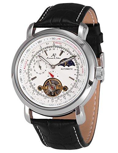 KS Kronen & Söhne Automatikuhr Mechanische Armbanduhr Herrenuhr Automatik Mechanik Uhr KS069