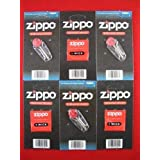 Zippo 6 Wicks and Flints