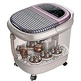 Cvxgdsfg Fußmassagegeräte Automatisches Fußbad, Heizung mit konstanter Temperatur, elektrische Massage, Gesundheitsbad