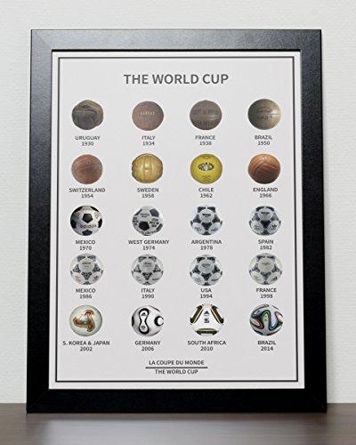 World Cup Fussball ball Poster -