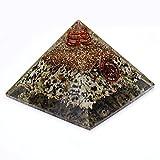 Harmonize Orgon piramide ametista cristallo energia Generator Orgonit Reiki Chakra guarigione, Cristallo, Entwurf#10 (Multistone), SCHWARZ GESCHENK BEUTEL