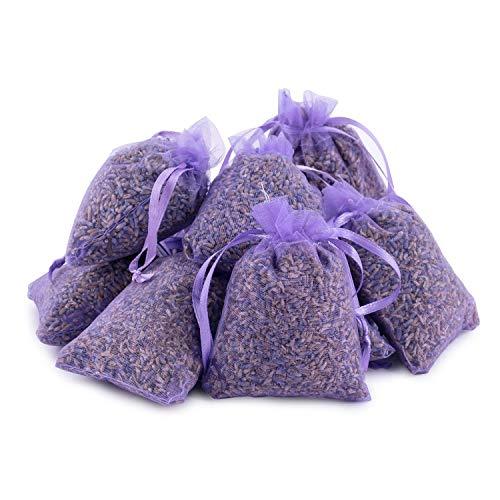 Pajoma Duftsäckchen Lavendel, 10er Pack Organzabeutel violett