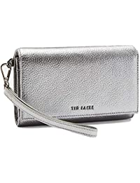 9a3f0678a96170 Ted Baker Holli Textured Leather French Purse in Gunmetal RRP £75