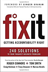 Fix It: Getting Accountability Right by Roger Connors (2016-05-31)