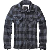 Brandit Checkshirt Shirt black-grey M