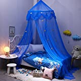 Baby Baldachin Betthimmel Kinder Babys Bett Baumwolle Hängende Moskiton für Schlafzimmer Ankleidezimmer Spiel Lesen Zeit Höhe 250 cm Pendellänge: 1000 cm