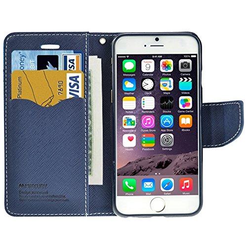 Phone case & Hülle Für IPhone 6 Plus / 6S Plus, Querbeschaffenheit Horizontaler Schlag-Leder-Kasten mit Einbauschlitzen u. Halter ( SKU : S-IP6P-0030R ) S-IP6P-0030L