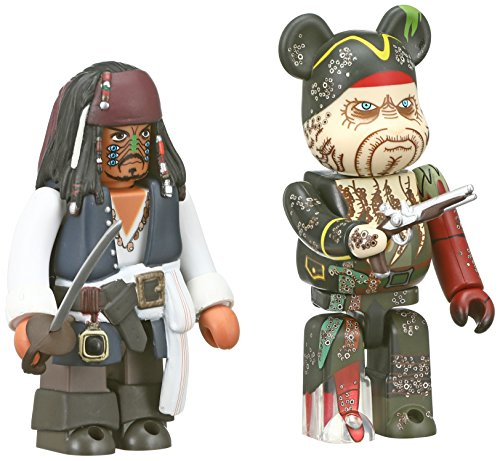 Disney Pirates of the Caribbean - Jack Sparrow & Davy Jones (Kubrick Bearbrick)