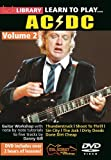 Lick Library: Learn To Play AC/DC - Volume 2. Pour Guitare
