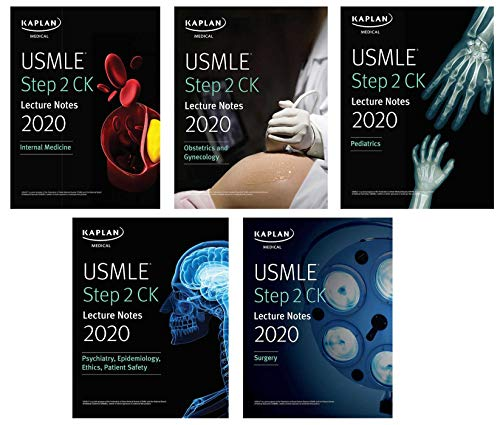 USMLE Step 2 CK Lecture Notes 2020: 5-book set (Kaplan Test Prep)