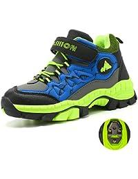 MEAYOU Scarpe da Escursionismo Bambini Scarpe da Trekking Sneaker Sportive  Esterne Scarpe da Arrampicata Caldo Invernali 3781046210e