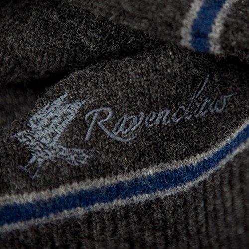 Harry Potter Ravenclaw Pullunder Hogwarts College Weste vom Filmausstatter made in Schottland Lammwolle Schwarz