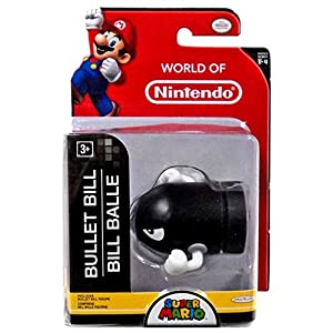 Nintendo Mini Figur (6cm) W4 – Bullet Bill