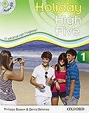 High five on holiday. Student book. Per la Scuola media. Con CD. Con espansione online: 1