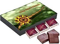 ChocoCraft Rakhi Gifts Customised 12 Chocolate Box