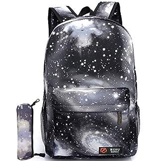 51iGHUH8T9L. SS324  - Backpack Mochilas Escolares Galaxia Mochila bolsa de Universidad y Escuela Daypack para Niños y Niñas Adolescentes Fuera Camping Picnic Deporte
