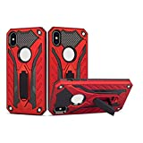 Zivite Armor Shockproof Soft TPU and Hard PC Back Cover Case with Kickst