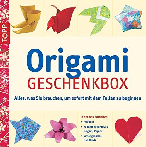 Origami-Geschenkbox Inkl. 50 Faltblätter