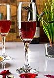 Pasabahce Greta Champagne Glass Flute,210 ml,Set of 6