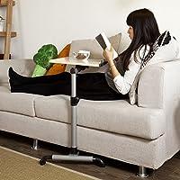 SoBuy® Tavolo portatile,tavolo console,tavolo pieghevole, Altezza regolabile