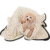 OHANA Softe und Warme Haustierdecke Hundedecke Katzendecke Punkt Fleece Decke für Hund Welpen und Katzen Waschbar Größe und Farbe Wählbar