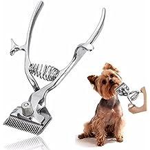sansido profesional Kit de pelo de las mascotas cortadora Animal Pet Cat Dog tijeras del pelo Shaver Razor Grooming Clipper