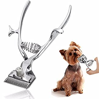 SanSiDo Professional Pet Grooming Scissors Clipper Cat Dog Stainless Steel Hand Hair Clipper Kit Animal Grooming… 6