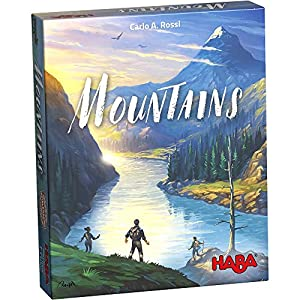 HABA- Juego de Mesa, Mountains, Multicolor (Habermass H304370)