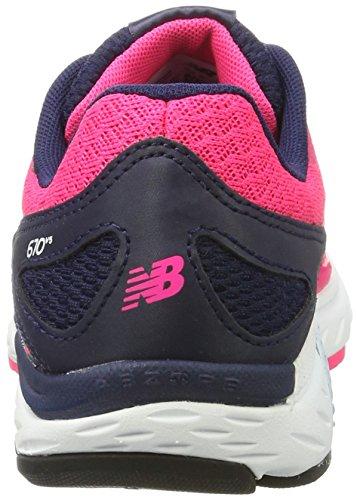 New Balance Damen 670v5 Hallenschuhe Pink (Pink/White)