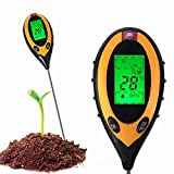 Everyday Garden 4 in1 LCD Digital Rasen PH Boden Meter Temperatur Sonnenlicht Tester Werkzeug