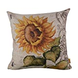 Die besten Slimmingpiggy Beddings - beautifulseason Slimmingpiggy Comfortable Bedding Blooming Sunflower 16x16 inch Bewertungen