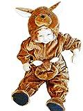 F53 Taille 76-84 costumes de carnaval kangourou kangourou, costume de carnaval kangourou, pour bébés, tout-petits, enfants pour carnaval de carnaval de carnaval, adapté comme cadeau d'anniversaire, Noël
