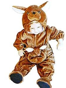 F53 Taille 84-90 Kangourous, Kangourou Costumes de carnaval, Costumes de carnaval kangourou, pour bébés, tout-petits, enfants pour carnaval Carnaval de carnaval, adapté pour l'anniversaire, Noël