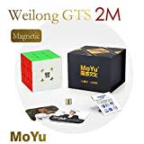 MoYu Weilong GTS2M 3x3x3 Magnetic Speed Cube stickerless