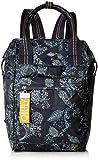 Oilily Damen Groovy Backpack Mvz Rucksackhandtasche, Blau (Dark Blue), 12x34x22 cm