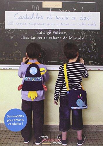 Cartables et sacs à dos : des modèles en couture pour enfants et adultes aussi !