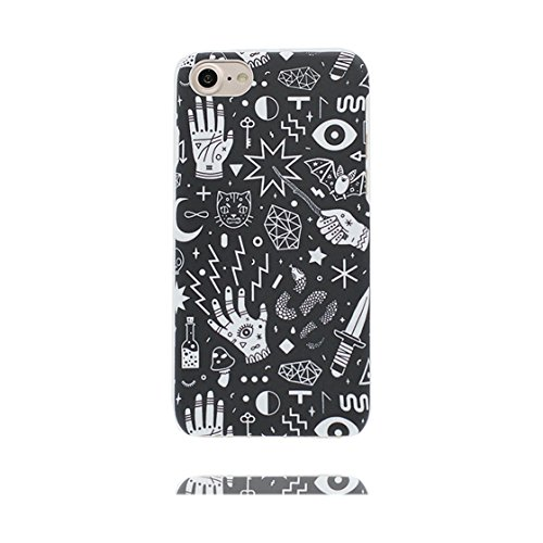Custodia iPhone 7, iPhone 7 copertura (4.7 pollici) | Gel durevole TPU morbido protettivo Case posteriore Stars Polvere anti shock | Cartoon Forme geometriche # 5