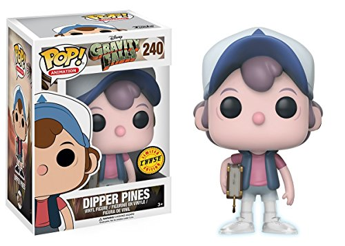 Gravity Falls Dipper Pines Pop! Vinyl Figure CHASE VARIANT (Fruchtbarkeit Shirts)