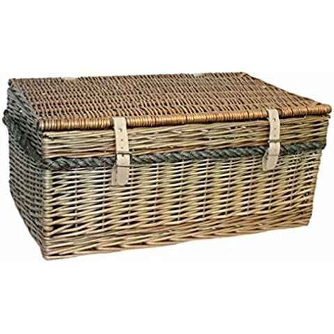 62cm antiguo Wash Picnic Basket