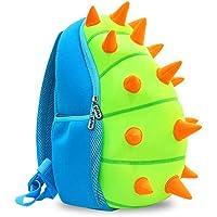 yisibo Kids Dinosaur Backpack,Toddler for Nursery/Travel/Kindergarten,Cartoon Boys Girls Dinosaur Rucksack,Age 2-7(Dinosaur-Green)