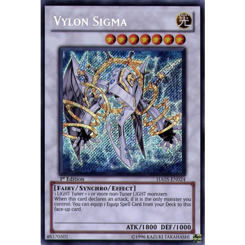 Yu-Gi-Oh: Vylon Sigma – Secret Rare – ha05-en024 (Sigma-single)