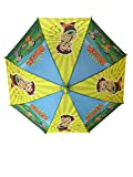 #3: Umbrella for Kids Chota Bheem Characters Print Umbrella ( Multi Color )