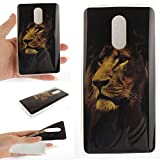 Xiaomi Redmi Pro / Hongmi Pro Case,Cozy Hut Ultra Slim Back Protective Case Cover Soft TPU Case [Scratch-Resistant] Clear Slim Fit TPU Protective Case Cover For Xiaomi Redmi Pro / Hongmi Pro,Unique Art Pattern Tiger Wolf Panda Dragon and Dandelion flower Butterfly owl Cute Animal Cartoon Floral Case for Xiaomi Redmi Pro / Hongmi Pro 5,5 Inch - lion